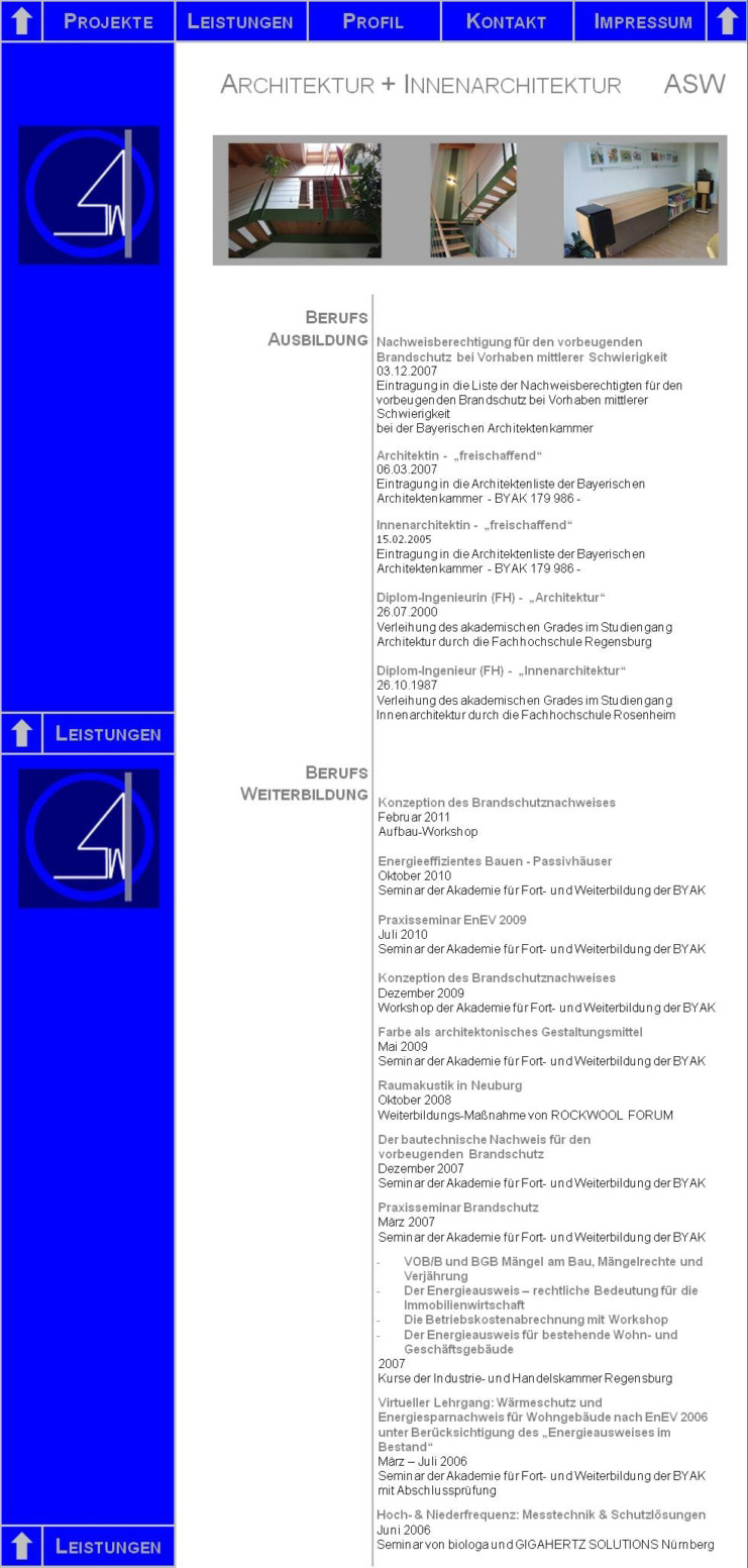 architektur + innenarchitektur asw, Innenarchitektur ideen